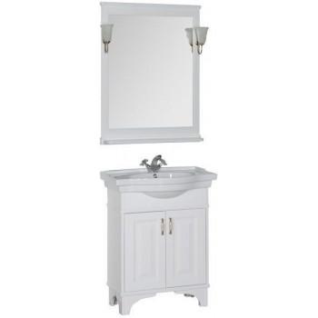 Комплект мебели для ванной Aquanet Валенса 70 белый