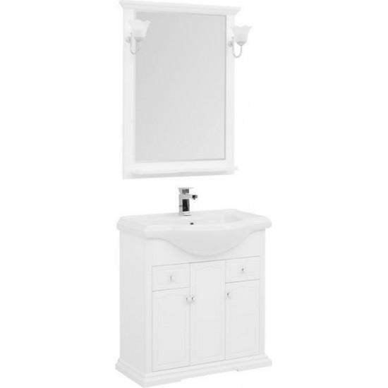 Комплект мебели для ванной Aquanet Лагуна Классик 80 белый в интернет-магазине ROSESTAR фото