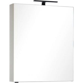 Зеркало-шкаф Aquanet Алвита 70 бежевый