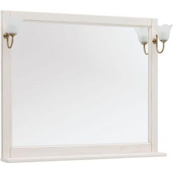 Зеркало Aquanet Тесса Декапе 105 жасмин/золото