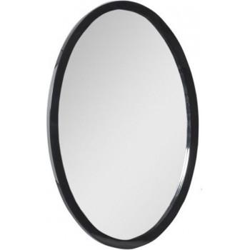Овальное зеркало Aquanet Сопрано 70 черный