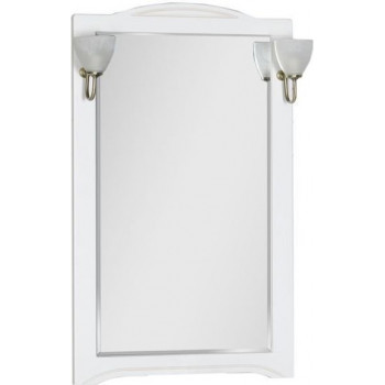 Зеркало Aquanet Луис 70 белый