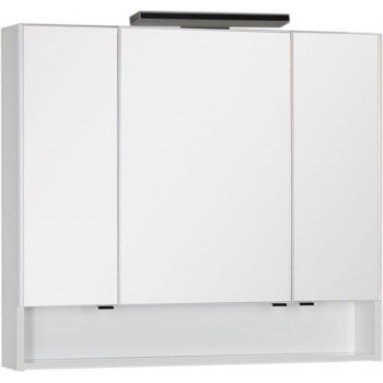 Зеркало-шкаф Aquanet Виго 100 белый