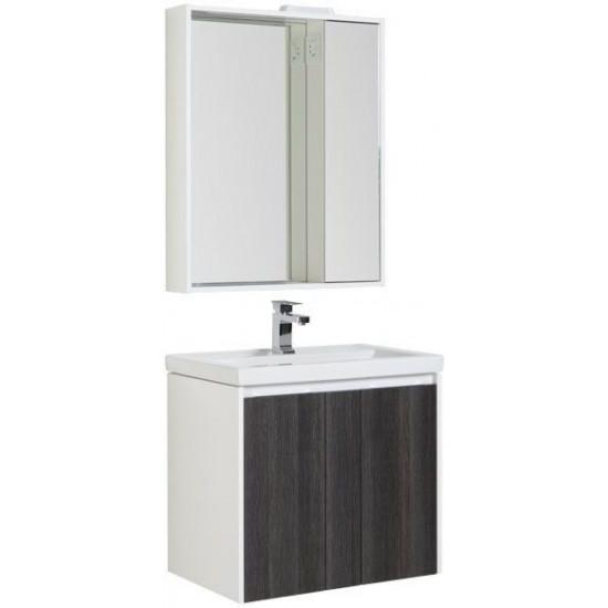 Комплект мебели для ванной Aquanet Клио 70 эвкалипт мистери/белый в интернет-магазине ROSESTAR фото