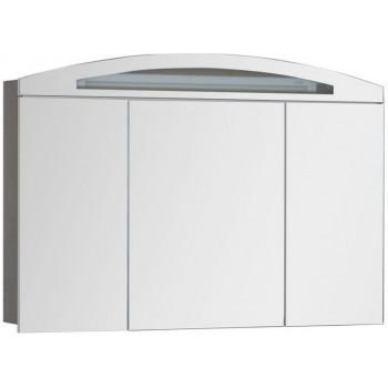 Зеркало-шкаф с подсветкой Aquanet Тренто 120 венге