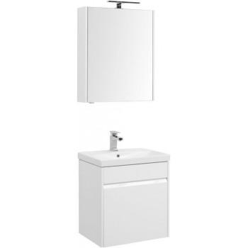 Комплект мебели для ванной Aquanet Палермо 60 белый