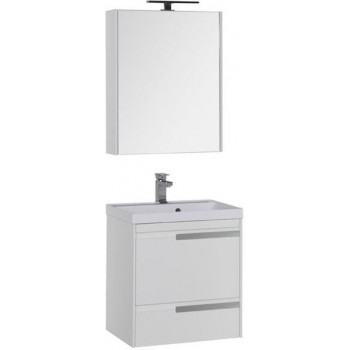 Комплект мебели для ванной Aquanet Тиволи 60 белый