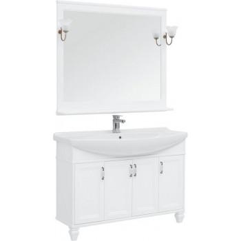 Комплект мебели для ванной Aquanet Валенса NEW 120 белый