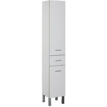 Шкаф-пенал для ванной Aquanet Верона 35 б/к белый (напольный)