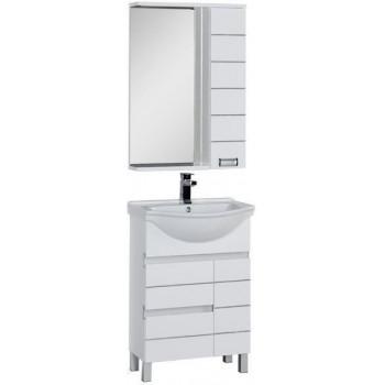 Комплект мебели для ванной Aquanet Доминика 60 белый