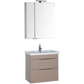 Комплект мебели для ванной Aquanet Эвора 70 капучино