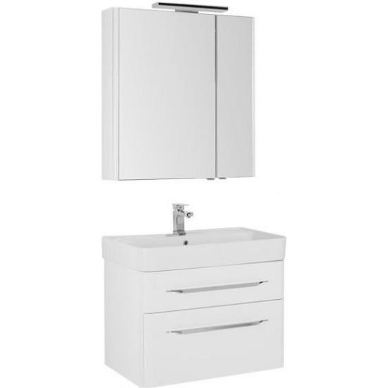 Комплект мебели для ванной Aquanet Виченца 80 белый в интернет-магазине ROSESTAR фото