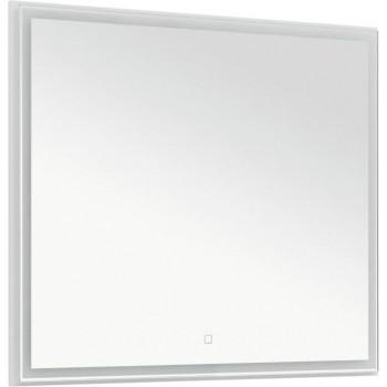 Зеркало Aquanet Nova Lite 90 белый LED