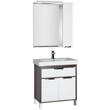 Комплект мебели для ванной Aquanet Гретта 90 венге