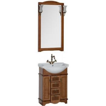 Комплект мебели для ванной Aquanet Луис 65 темный орех