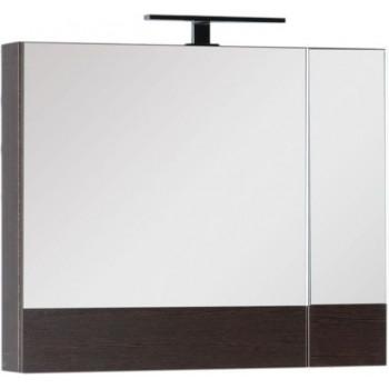 Зеркало-шкаф Aquanet Нота 75 венге