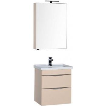 Комплект мебели для ванной Aquanet Эвора 60 бежевый