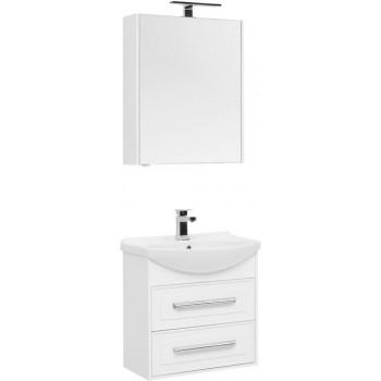 Комплект мебели для ванной Aquanet Остин 65 белый