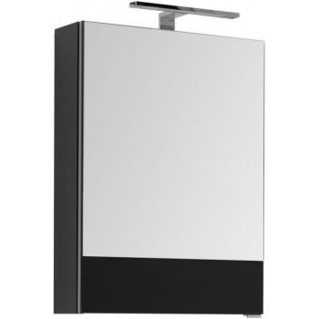 Зеркало-шкаф Aquanet Верона 50 черный