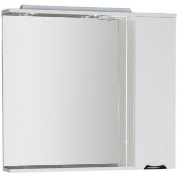 Зеркало-шкаф с подсветкой Aquanet Гретта 100 белый
