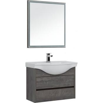 Комплект мебели для ванной Aquanet Сидней 80 дуб рошелье