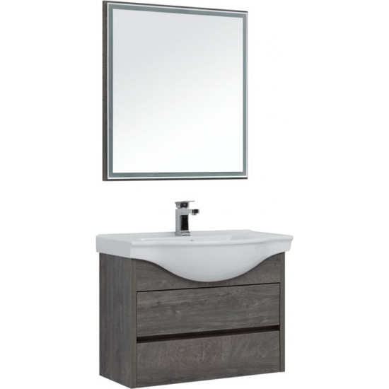 Комплект мебели для ванной Aquanet Сидней 80 дуб рошелье в интернет-магазине ROSESTAR фото