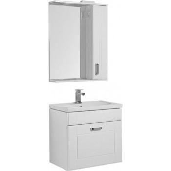 Комплект мебели для ванной Aquanet Рондо 70 белый (1 ящик)