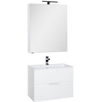 Комплект мебели для ванной Aquanet Алвита 70 белый