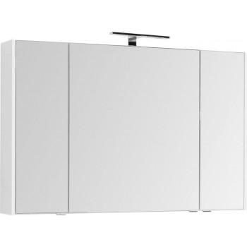Зеркало-шкаф Aquanet Остин 120 белый