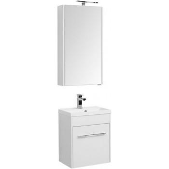 Комплект мебели для ванной Aquanet Августа 50 белый