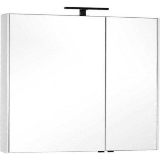 Зеркало-шкаф Aquanet Тулон 100 белый в интернет-магазине ROSESTAR фото