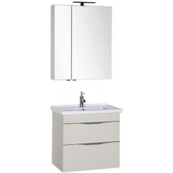 Комплект мебели для ванной Aquanet Эвора 70 крем