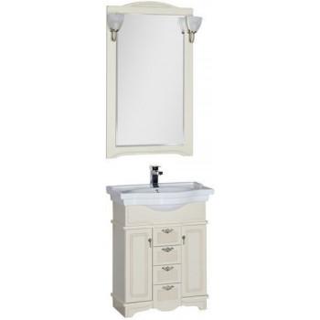 Комплект мебели для ванной Aquanet Луис 70 бежевый