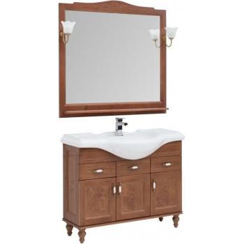 Комплект мебели для ванной Aquanet Амелия S 105 орех