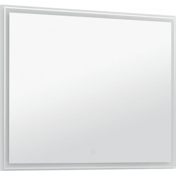 Зеркало Aquanet Nova Lite 100 белый LED