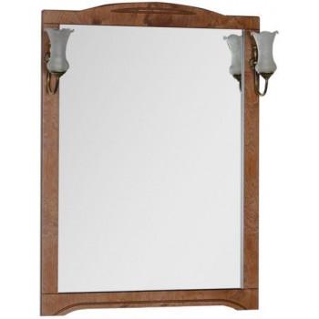 Зеркало Aquanet Луис 90 темный орех