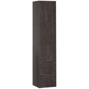 Шкаф-пенал для ванной Aquanet Эвора 40 дуб антик