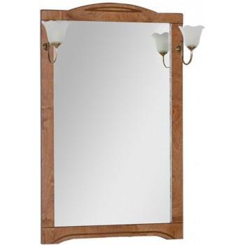 Зеркало Aquanet Луис 70 темный орех