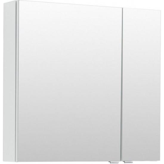 Зеркало-шкаф Aquanet Порто 70 белый в интернет-магазине ROSESTAR фото