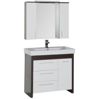Комплект мебели для ванной Aquanet Тиана 100 венге