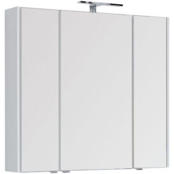 Зеркало-шкаф Aquanet Августа 100 белый