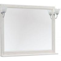Зеркало Aquanet Тесса Декапе 105 жасмин/серебро