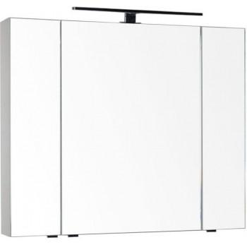 Зеркало-шкаф Aquanet Эвора 100 крем