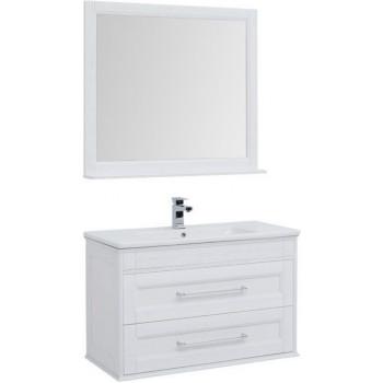 Комплект мебели для ванной Aquanet Бостон 100 ясень
