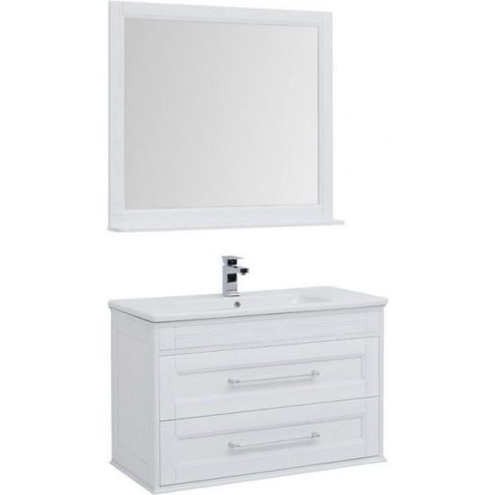 Комплект мебели для ванной Aquanet Бостон 100 ясень в интернет-магазине ROSESTAR фото