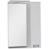 Зеркало-шкаф с подсветкой Aquanet Сити 65 белый