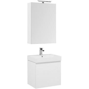 Комплект мебели для ванной Aquanet Йорк 60 белый