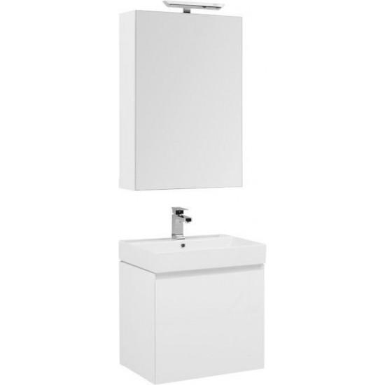 Комплект мебели для ванной Aquanet Йорк 60 белый в интернет-магазине ROSESTAR фото
