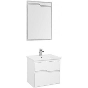 Комплект мебели для ванной Aquanet Модена 65 белый