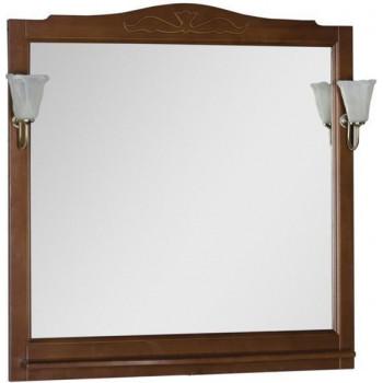 Зеркало Aquanet Амелия 100 орех